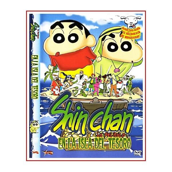 SHIN CHAN EN LA ISLA DEL TESORO
