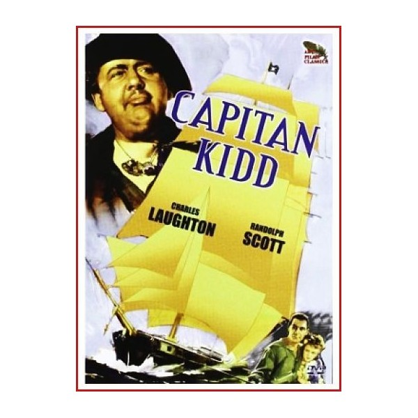 CAPITAN KIDD DVD 1945 Piratas-Siglo XVII