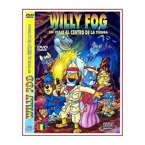 WILLY FOG EN VIAJE AL CENTRO DE LA TIERRA DVD 1999 RIVALIDAD Y AVENTURA