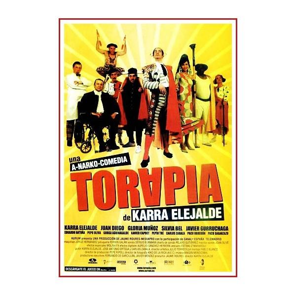 TORAPIA DVD 2004 CINE ESPAÑOL Dirección Karra Elejalde
