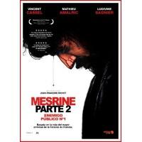 MESRINE PARTE 2 ENEMIGO PÚBLICO Nº1 DVD Dirección Jean-François Richet