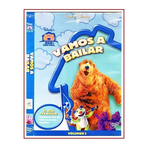 CARATULA DVD ORIGINAL EL OSO DE LA CASA AZUL: VAMOS A BAILAR