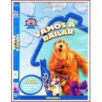 CARATULA DVD EL OSO DE LA CASA AZUL: VAMOS A BAILAR