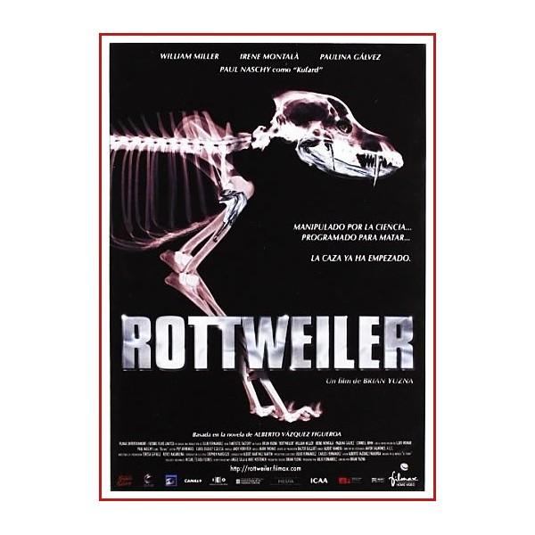 ROTTWEILER DVD 2005 CINE ESPAÑOL Dirección Brian Yuzna