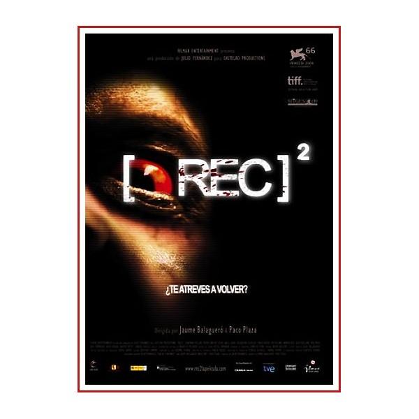 REC 2 DVD 2009 CINE ESPAÑOL Dirección Jaume Balagueró, Paco Plaza