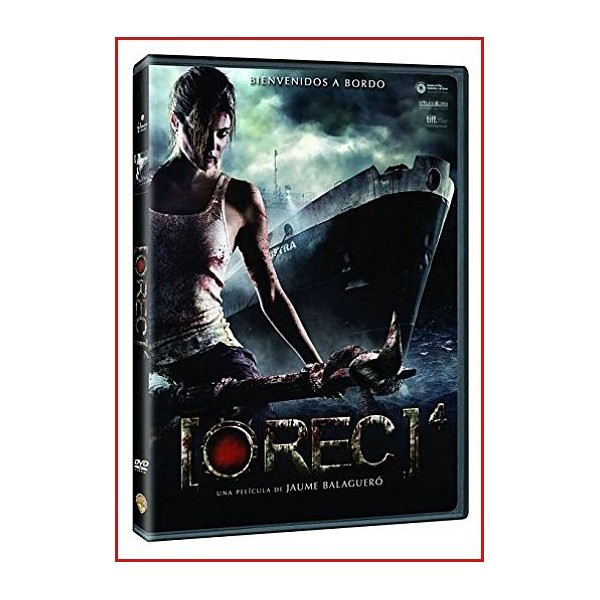 REC 4 (APOCALIPSIS) DVD 2014 CINE ESPAÑOL Dirección Jaume Balagueró
