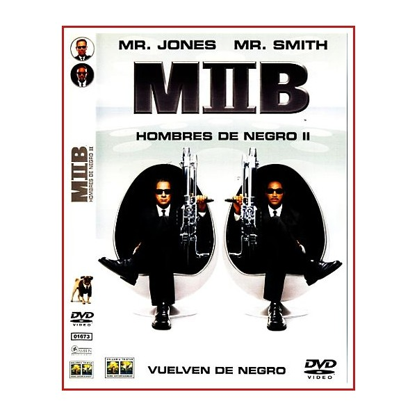 MEN IN BLACK 2 EDICIÓN DOS DISCOS DVD 2002 Dirección Barry Sonnenfeld