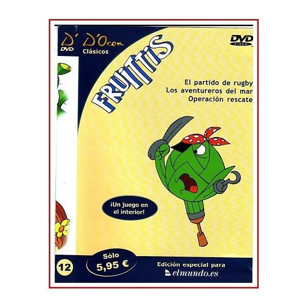 FRUITTIS CLASICOS D'OCON DVD 1990 Animación-Infantil