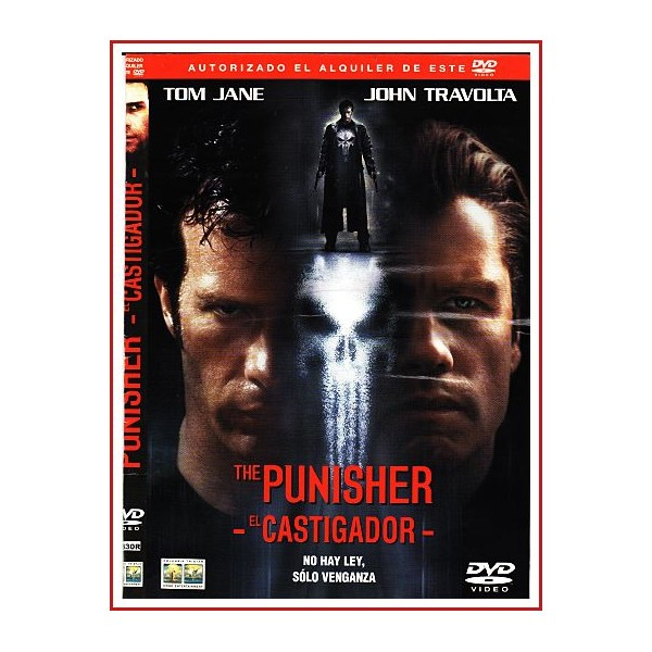 CARATULA DVD ORIGINAL EL CASTIGADOR (THE PUNISHER)