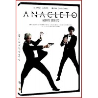ANACLETO AGENTE SECRETO (NUNCA FALLA) DVD Director Javier Ruiz Caldera