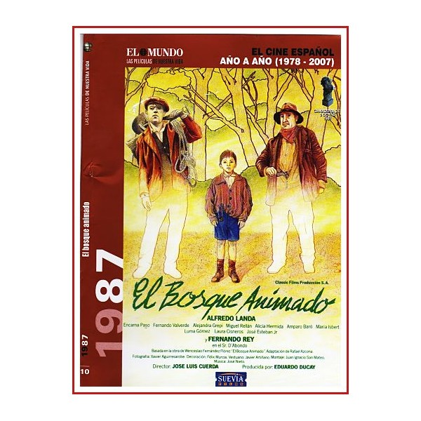 EL BOSQUE ANIMADO DVD 1987 Dirigida por José Luis Cuerda