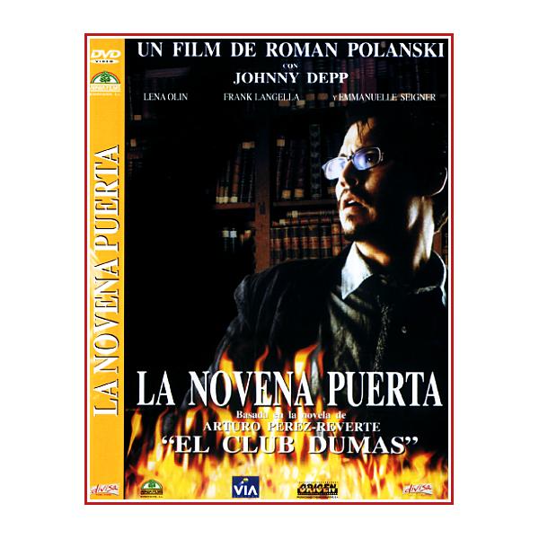 LA NOVENA PUERTA DVD 1999 Dirigida por Roman Polanski