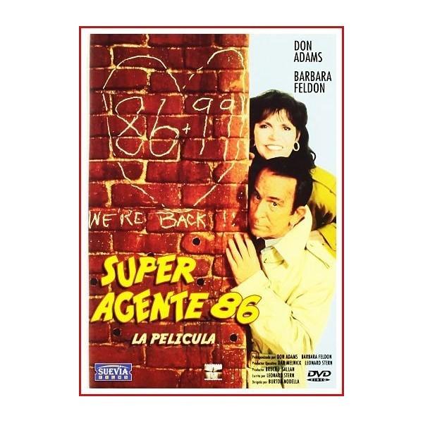 SUPER AGENTE 86 LA PELÍCULA DVD 1989 Espionaje-Parodia