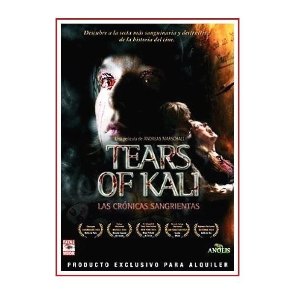 TEARS OF KALI (LAS CRÓNICAS SANGRIENTAS) DVD 2004 Película Episodios