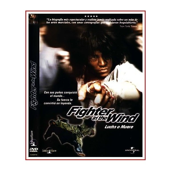FIGHTER IN THE WIND LUCHA O MUERE DVD 2004 Artes marciales-BiográfIca