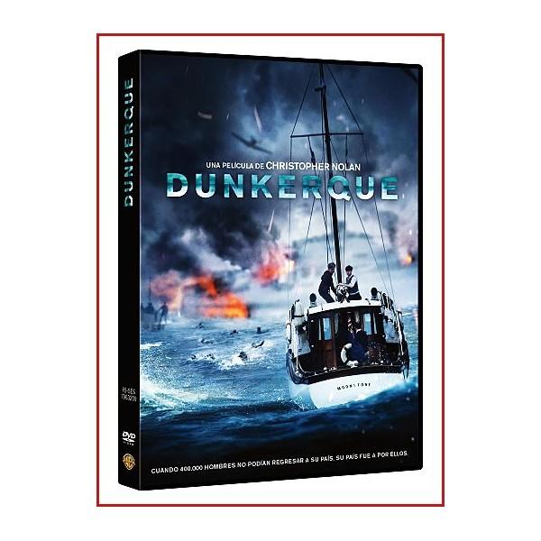 DUNKERQUE (DUNKIRK) DVD 2017 Dirección Christopher Nolan
