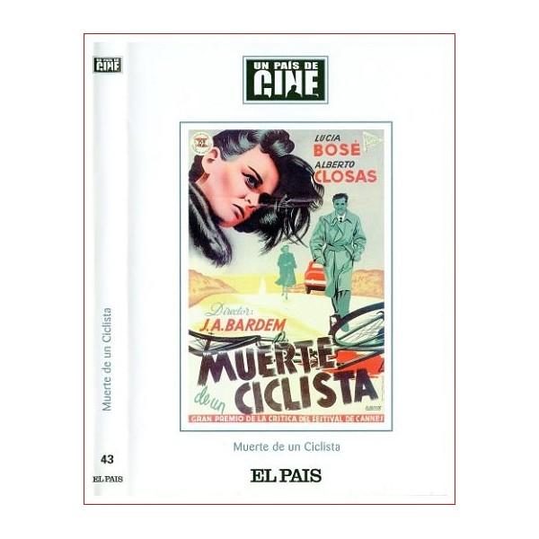 CARATULA DVD ORIGINAL MUERTE DE UN CICLISTA