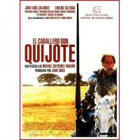 EL CABALLERO DON QUIJOTE DVD 2002 Dirección Manuel Gutiérrez Aragón