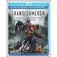 TRANSFORMERS 4 LA ERA DE LA EXTINCION 3D2D BLU RAY+EXTRAS DVD 2014