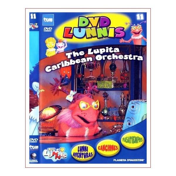 LOS LUNNIS THE LUPITA CARIBBEAN ORCHESTRA DVD Dir.Eladio Jareño