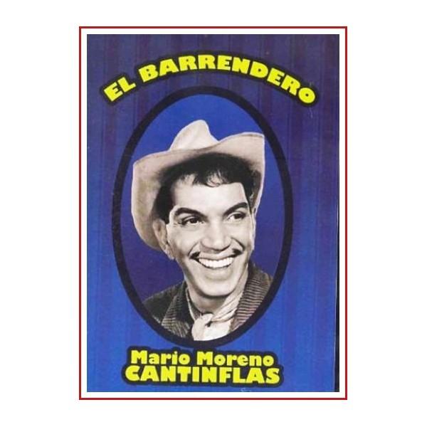 CANTINFLAS EL BARRENDERO DVD 1982 Productora Cantinflas Films 113 min.