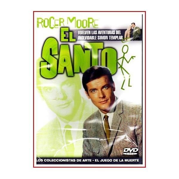 EL SANTO: LOS COLECCIONISTAS DE ARTE-EL JUEGO DE LA MUERTE DVD 1962
