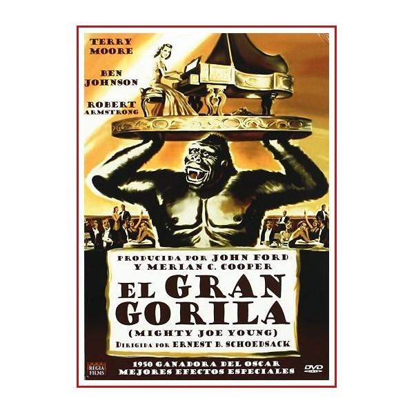 EL GRAN GORILA DVD 1949 Dirección Ernest B. Schoedsack