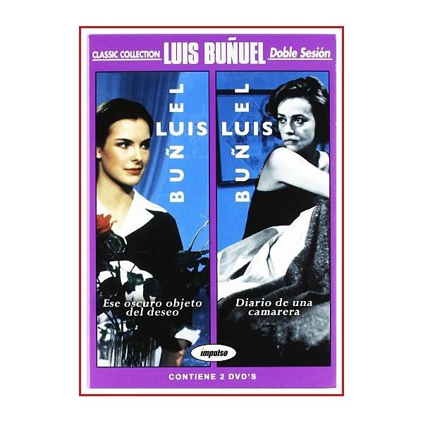 ESE OSCURO OBJETO DEL DESEO + DIARIO DE UNA CAMARERA DVD 1977-1964