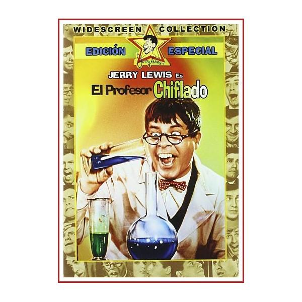 EL PROFESOR CHIFLADO DVD 1963 Dirección Jerry Lewis