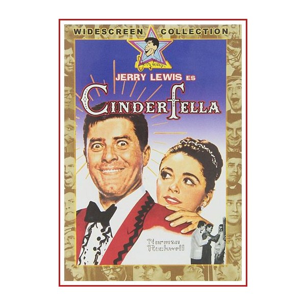 CINDERFELLA DVD 1962 Dirección Frank Tashlin