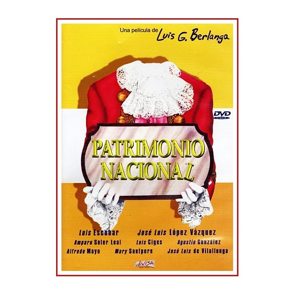 PATRIMONIO NACIONAL DVD 1981 Dirigida por Luis García Berlanga