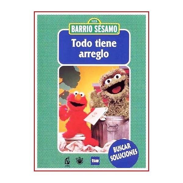 BARRIO SÉSAMO TODO TIENE ARREGLO DVD 2003 Director Joan Ganz Cooney
