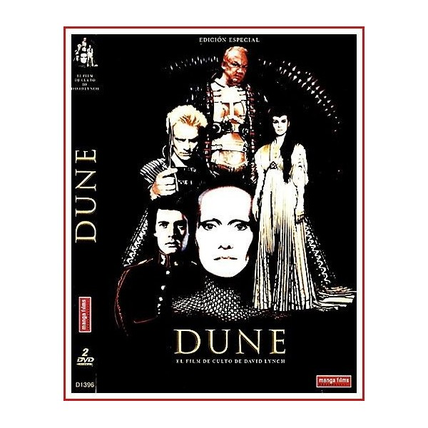 DUNE DVD 1984 Dirigida por David Lynch
