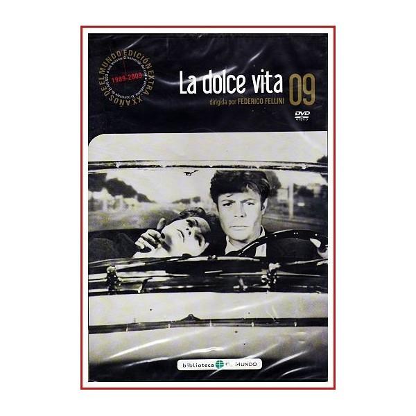 LA DOLCE VITA DVD 1960 Periodismo-Cine dentro del cine