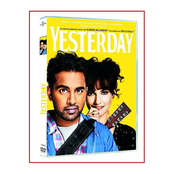 YESTERDAY (The Beatles) DVD 2019 Director Danny Boyle