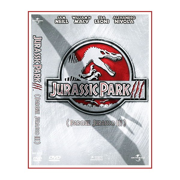PARQUE JURASICO 3 (JURASSIC PARK III) DVD Dirección Joe Johnston