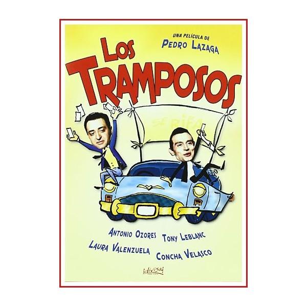 LOS TRAMPOSOS DVD 1959 CINE ESPAÑOL Dirigida por Pedro Lazaga