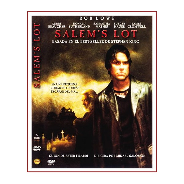 SALEM'S LOT DVD 2004 Dirección Mikael Salomon