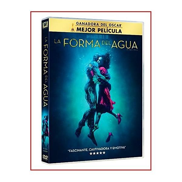 LA FORMA DEL AGUA DVD 2017 Dirección Guillermo del Toro