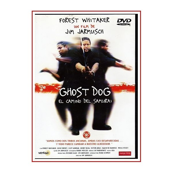 GHOST DOG EL CAMINO DEL SAMURÁI DVD 1999 Cine independiente-Mafia