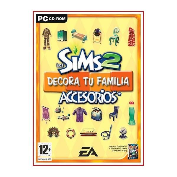 LOS SIMS 2 DECORA TU FAMILIA ACCESORIOS