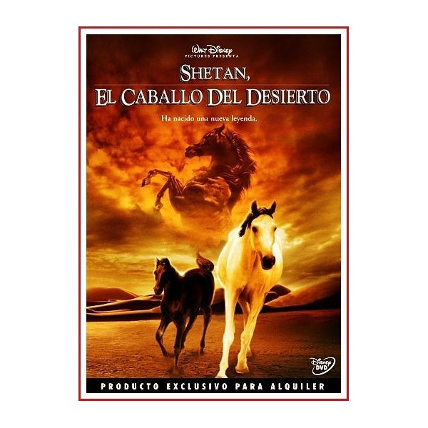 EL CABALLO DEL DESIERTO (SHETAN) DVD 2003 Aventuras-Cine familiar