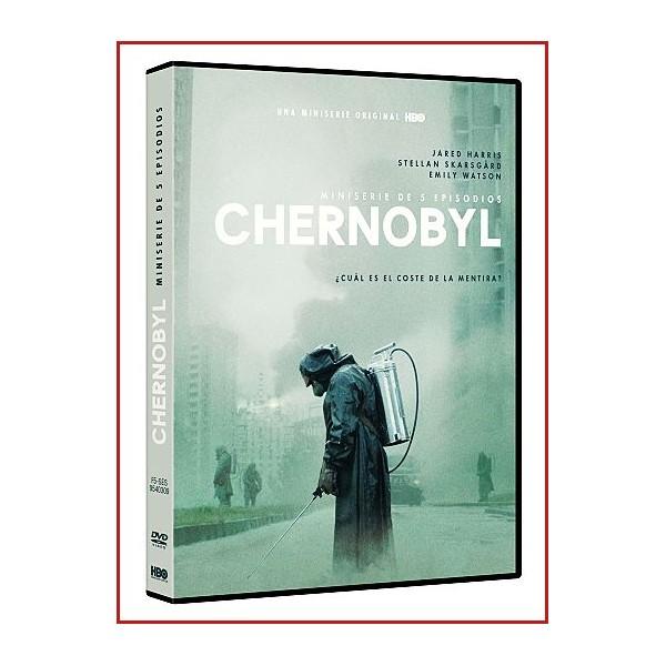 CHERNÓBYL (Miniserie) DVD 2019 Dirección Craig Mazin y Johan Renck