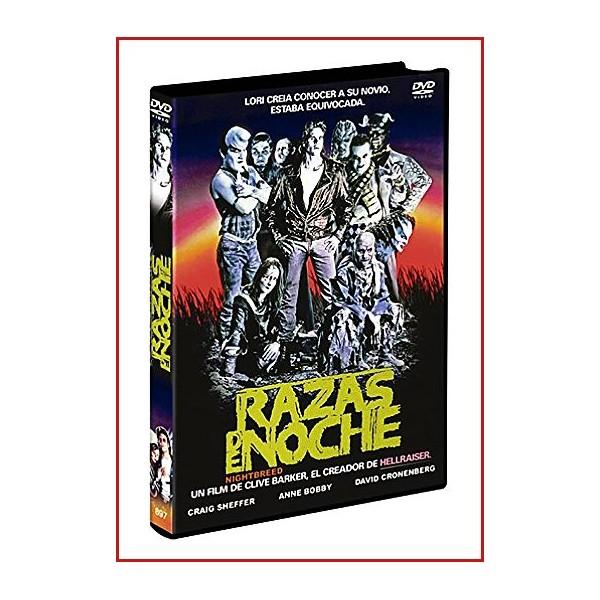RAZAS DE NOCHE DVD 1990 Dirección Clive Barker