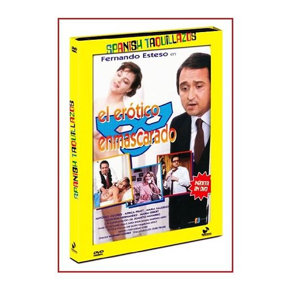 EL ERÓTICO ENMASCARADO DVD 1980 Dirigida por Mariano Ozores