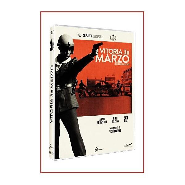 VITORIA 3 DE MARZO (1976) DVD 2018 Dirección Victor Cabaco