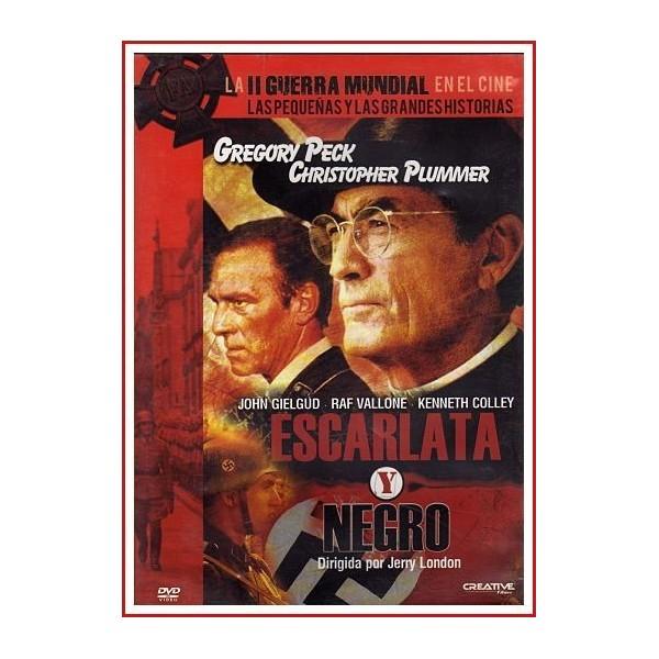 ESCARLATA Y NEGRO DVD 1983 Nazismo-Religión