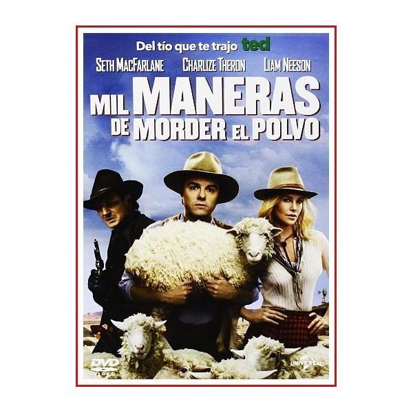 MIL MANERAS DE MORDER EL POLVO DVD 2014 Absurda-Parodia