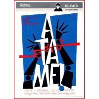 ATAME DVD 1989 Comedia negra. Secuestros