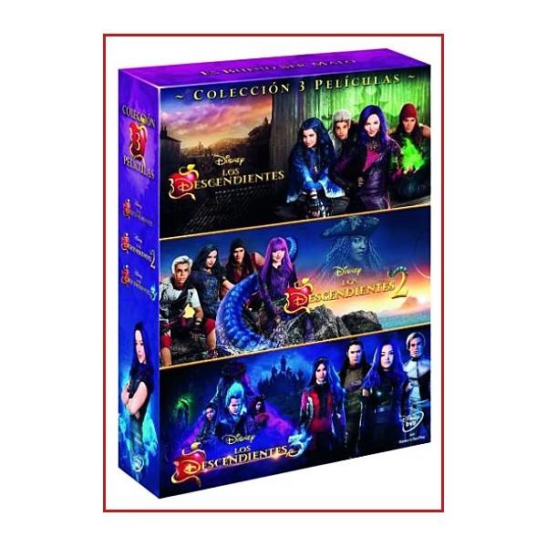 LOS DESCENDIENTES PACK COLECCIÓN 1-2-3 DVD Dirección Kenny Ortega